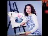 凌蕙蕙的彩繪人生,簡歷、從早期到近作。