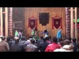 貴州安順最著名的地戲,是明朝延續至今的戲劇藝術。