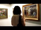 此次參加展覽的作品以靜物、寫生為主的油畫主題。
