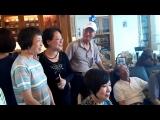 2014年4月18日離校40年了的老同學相聚會歡樂言表.