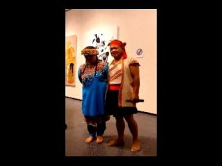 Consonance與數位荷蘭籍藝術家的畫作共同展出 原住民朋友現場歌唱 從 12-19-2015 16:41:40 上傳者: gct