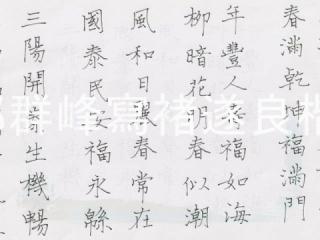 下一部影片 >: 硬筆書寫褚遂良楷書(郭群峰書法教學)