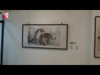 歐豪年畫展導覽