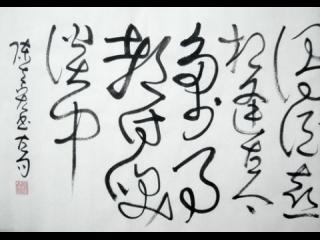 狂草書法動畫影片--臨江仙2