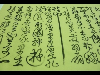 下一部影片 >: 狂草書法影片----念 奴 嬌 (赤壁懷古六)蘇軾陳志宏書